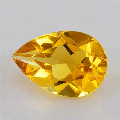 9a9afa21b371 1.73ctw 10x7x4.70mm Pear Yellow Citrine Excellent Eye Clean Top Grade